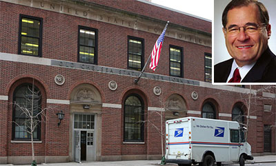 The post office at 217 West 18th Street and Jerrold Nadler