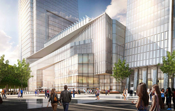 New rendering of Hudson Yards