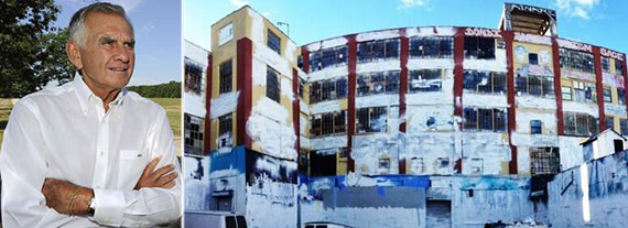 From left: Jerry Wolkoff and 5Pointz