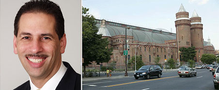 Fernando Cabrera and the Kingsbridge Armory in the South Bronx