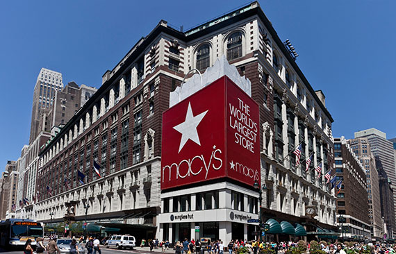 Macy's at 34th Street in Herald Square