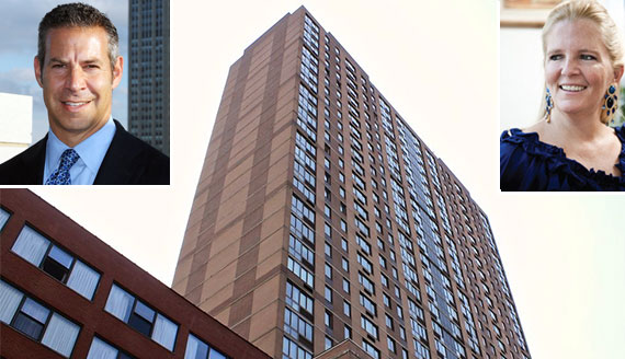 From left: David Picket, New Gotham at 520 West 43rd Street and Darcy Stacom