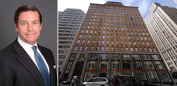 From left: Cushman & Wakefield's Harry Blair and 183 Madison Avenue