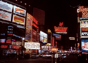 Times Square in 1953