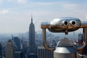 Rockefeller Center's observation deck