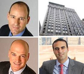From top left: Savanna's Christopher Schlank, 15 East 26th Street, Rockrose's Justin Elghanayan