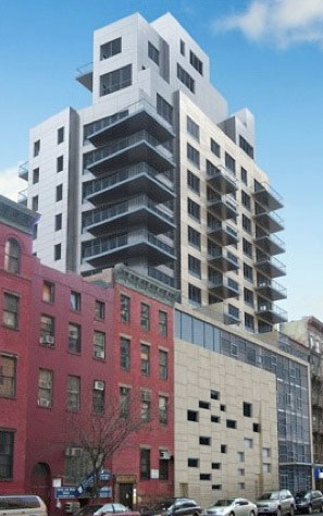 Rendering of the proposed project at 225 E. Broadway