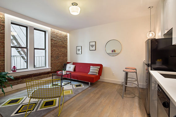 The apartment at 48 West 138th Street