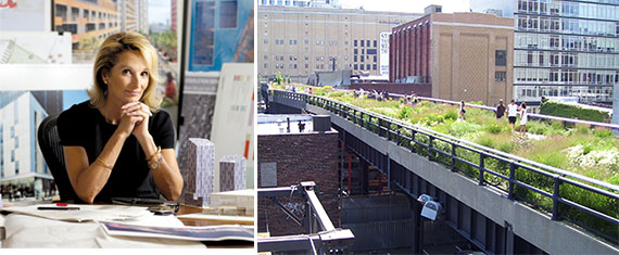 Amanda Burden and the High Line