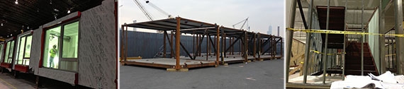 Forest City Ratner's pre-fabricated units for B2
