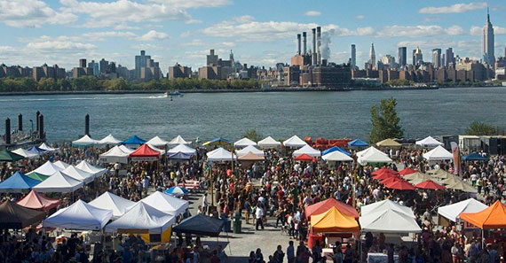 Brooklyn Flea in East River State Park
