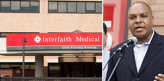 The Interfaith Medical Center at 1545 Atlantic Avenue and Karim Camara