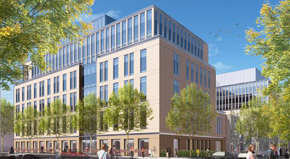 Rendering of Park Slope's New York Methodist Hospital