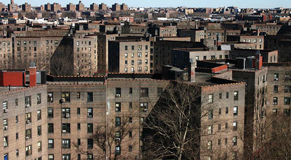Queensbridge Houses in Long Island City
