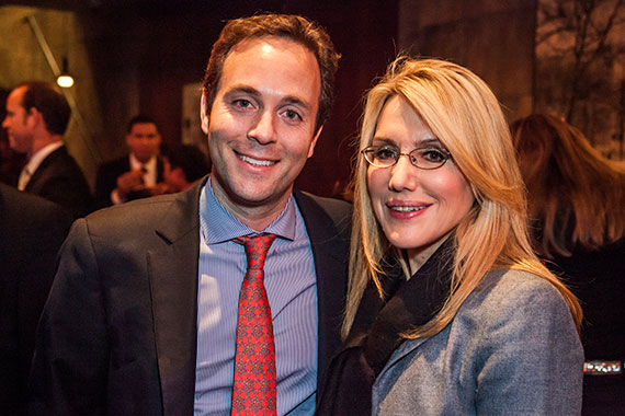 From left: Zillow CEO Spencer Rascoff and Dolly Lenz of Dolly Lenz Real Estate