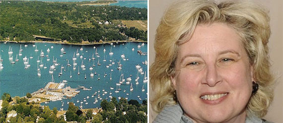 Susan Weber Soros and Dering Harbor