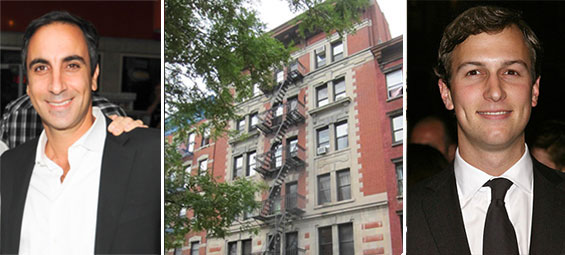 From left: Erez Itzhaki, 170-172 East 2nd Street and Jared Kushner