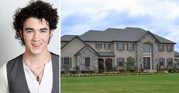 Kevin Jonas and the Denville, N.J. property (Credit: Airbnb)