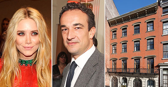 From left: Mary-Kate Olsen, Olivier Sarkozy and 123 East 10th Street