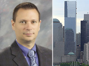 From left: Richard Persichetti and 4 World Trade Center