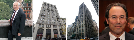From left: Frank Ring, 251 Park Avenue South, 212 Fifth Avenue and Gary Barnett