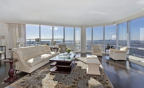 The penthouse at the Ritz-Carlton in Battery Park City