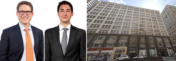 From left: Steven Baker, Aaron Fishbein and 387 Park Avenue South