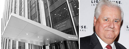 Time & Life Building at 1271 Sixth Avenue and Time Inc. CEO Joseph Ripp