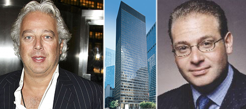 From left: RFR's Aby Rosen, 375 Park Avenue and NGKF's Brian Goldman
