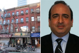 From left: 143 Grand Street and  Shawn Sadaghati of GFI