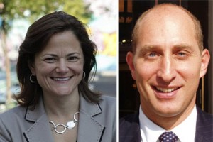 From left: Melissa Mark-Viverito and Adam Leitman Bailey