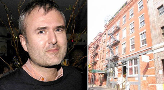 Nick Denton and 210 Elizabeth Street (Credit: PropertyShark)
