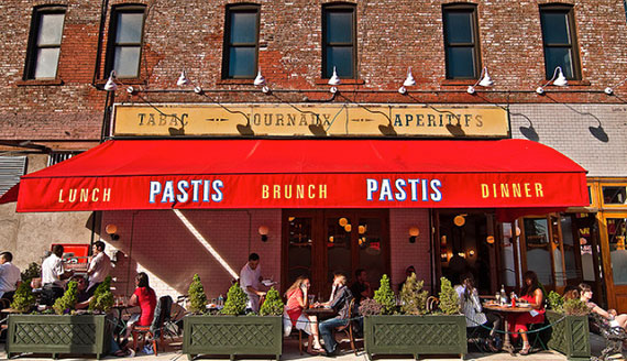 Pastis in the Meatpacking District (Credit: Guest of a Guest)