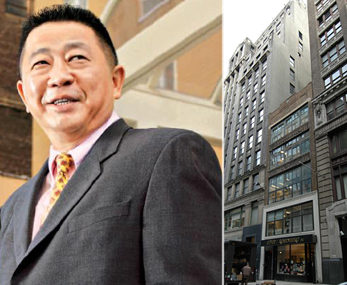 From left: Sam Chang and 11 West 37th Street