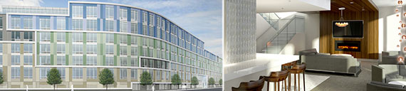 Renderings of 250 N. 10th Street