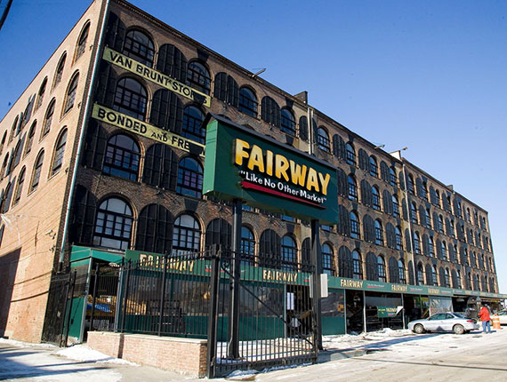 Fairway's newly-reopened Red Hook location at 480-500 Van Brunt St