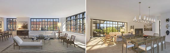 Renderings of 500 West 21st Street