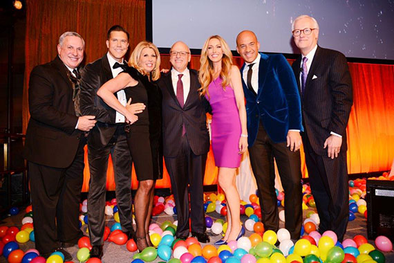 From left: Chris Peters, Fredrik Eklund, Dottie Herman, Howard Lorber, Melanie Lazenby, John Gomes and Steven James