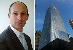 From left: Peter Turchin and 250 West 55th
