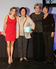 From left: Pamela Liebman, Carrie Chiang and Janet Wang