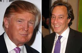 Donald Trump and Michael Kimmelman