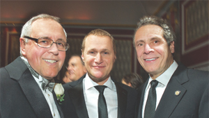 From left: Steve Spinola, Rob Speyer and Gov. Andrew Cuomo