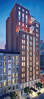 Rendering of 151 East 78th Street