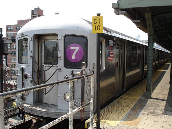No. 7 train in Queens