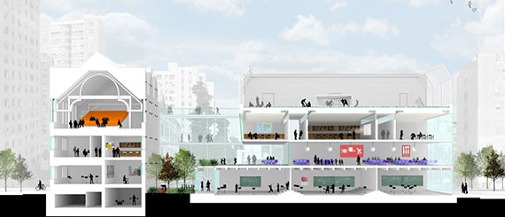 A rendering of the Trinity School's expansion and renovation at 139 West 91st Street (Credit: Rogers Partners)
