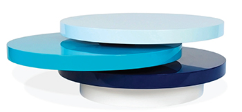 Jonathan Adler's lacquer Polly Cocktail Table