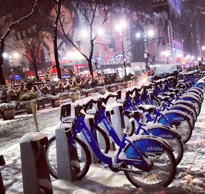 Citi Bike's revenue lagged during the brutal 2013-14 winter.