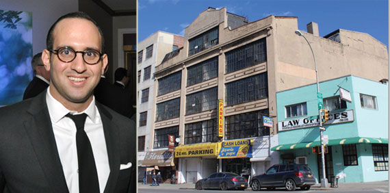 Robert Shapiro and the Washington Heights development site