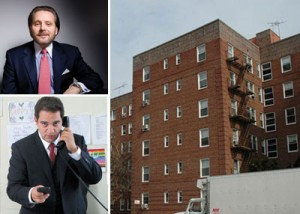 Clockwise from top left: Bob Knakal, 2835-2875 Ocean Avenue in Sheepshead Bay and Aaron Jungreis