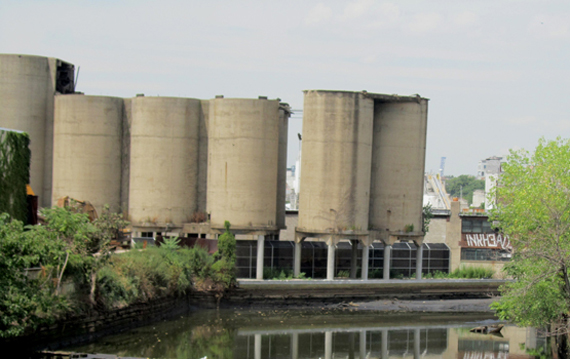 Burns Brothers coal pockets at Gowanus Canal